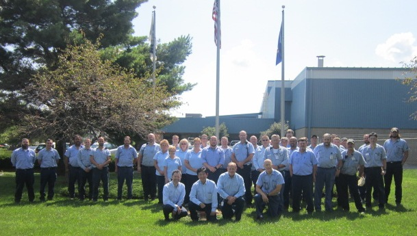 Members from the Steel plant.